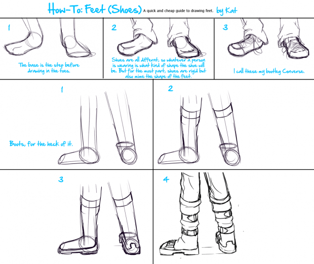 How-To: Feet (Shoes)